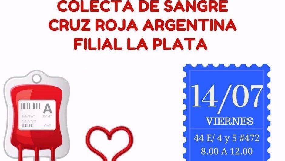 La Cruz Roja convoca a donar sangre este viernes, de 8 a 12, en su ...