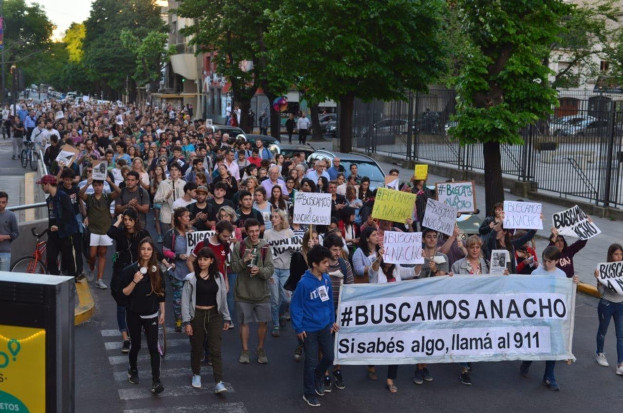 Tras una marcha de familiares y amigos, Nacho Galván se contactó con su familia - Infoplatense